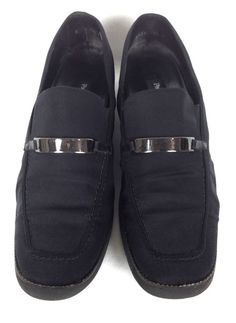 Paul Green Shoes Womens Black Leather Loafers 9.5 #PaulGreen #LoafersMoccasins #WeartoWork