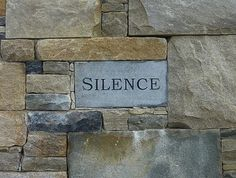 God as Silence? - Pastor Keith Anderson :: Lutheran Pastor, Author of The Digital Cathedral Lutheran, Cathedral, Stone, Digital, Pastor, Words, Cathedrals, Rocks, Rock