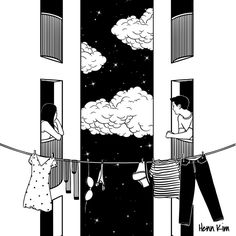 thinking about you art print by henn kim worldwide shipping available at just one of millions of high quality products available - Coloration Et Henn