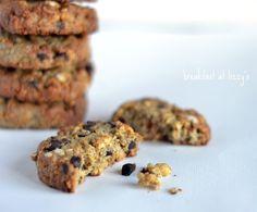 biscotti croccanti con avena e riso soffiato