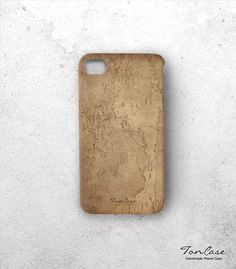 Map iPhone 4 case  FREE SHIPPING iphone 4s case by TonCase on Etsy, $29.90