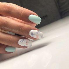 nails - 142 top class bridal nail art design for spring inspiration page 12 Spring Nail Art, Spring Nails, Summer Nails, Cute Acrylic Nails, Fun Nails, Pretty Nails, Pastel Nail Art, Nagellack Design, Nagellack Trends