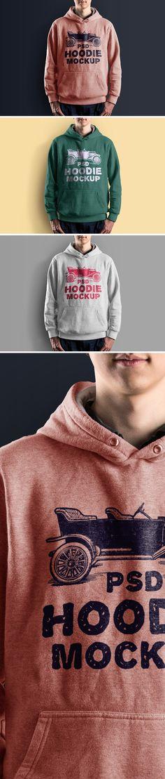 Free Hoodie Mockup PSD (73 MB) | Graphics Fuel | #free #photoshop #mockup #psd #hoodie