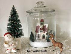 TTT Week 16 Using Vintage Christmas Decorations | The Blue Willow House