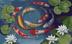Водная стихия - Схемы вышивки - Иголка