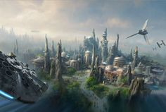 Star Wars Lands Are Coming to Disney World and Disneyland