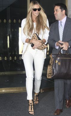 All white with leopard