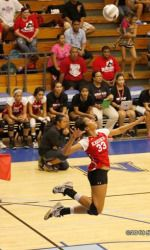 """Adora Anae (OH / 6-1 / Laie, Hawaii / Kahuku HS / Imi'Ike Volleyball Club) No. 79 on PrepVolleyball.com's Senior Ace list led Kahuku High School to Oahu Interscholastic Association championship as a junior  OIA First-team All-Star in 2012 intends to study nursing. Launiere on Anae: """"Adora is a smooth athlete who is a six-rotation player. As a 6-1 passing outside hitter, her great feel for the game allows her to do many things on the court. She has played volleyball at a high level in…"""