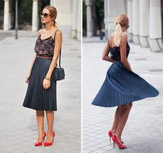 Style an Accordion Skirt