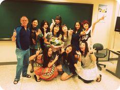 Yonsei University. My class
