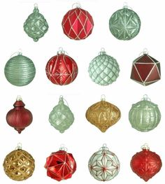 Holiday Winter Tidings Glass Ornament Assortment Christmas Tree Decor (15-Count)  #Ornament #OrnamentAssortment #GlassOrnament #Glass #Holiday #Winter #Tidings #ChristmasTreeDecor #TreeDecor #ChristmasDecor #Decor