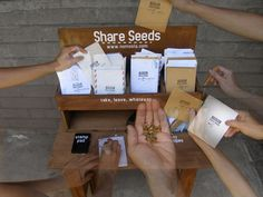 Build a Seed Sharing Station...good idea