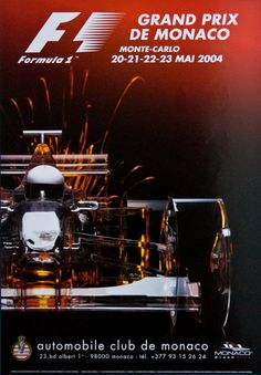 Monaco 2004 - F1 - Grand Prix de Monaco