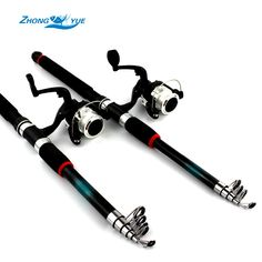 Lowest profit  Fishing Rod and Reel /lot Lure Bait Fishing Reels spinning reel Fishing Tackle Accessory Tool Carbon Perfect suit