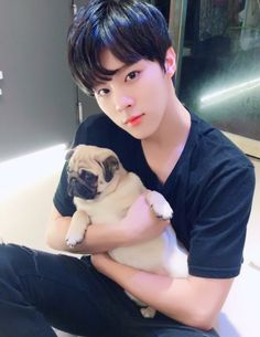 170109 UP10TION Xiao Fancafe Update - Healing Time @ Pet Café #업텐션 #Wooshin #우신