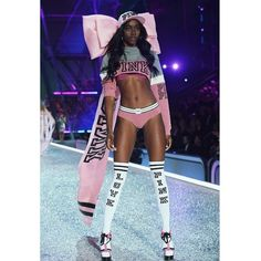 Fashion fan blog from industry supermodels: Zuri Tibby -  at Victoria's Secret Fashion Show 20...