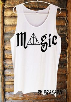 a8cb28c9a242ed Magic Deathly Hallows Harry Potter Fashion Custom by PidayShop