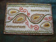 Dorset Feather Stitch