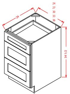 How to Assemble Base Cabinet - RTA Cabinets Assembly Instructions ...