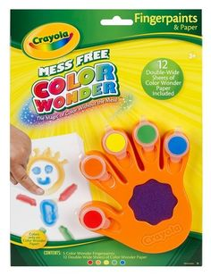 Color Wonder™ Fingerpaints