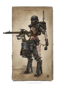 Nazi zombie cyborg