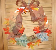 Sunday School Thanksgiving craft, how to make a leaves thanksgiving day craft
