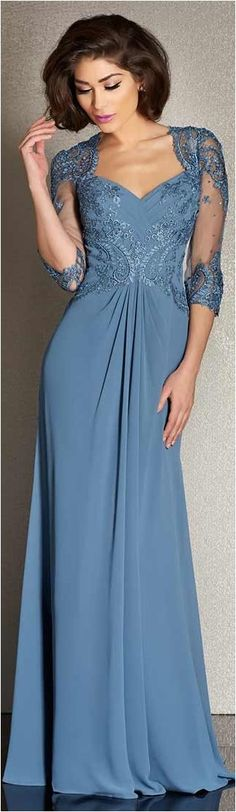 Elegant Mother Of The Bride Dresses Trends Inspiration & Ideas (87)