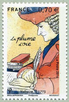 La plume d´oie - Voltaire 1775