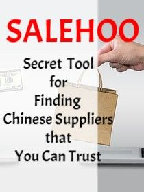 SaleHoo Review - Secret Tool for Finding Chinese Suppliers
