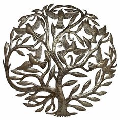 Flight + Song Bird Tree of Life Wall Hanging - pagan wiccan witchcraft magick ritual supplies