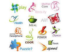 beautiful set of 02 threedimensional logo Free Logo Psd, Vector Free, Beauty Logo, Beauty Art, Puzzle Logo, Speed Logo, Dance Logo, Power Logo, Sun Logo