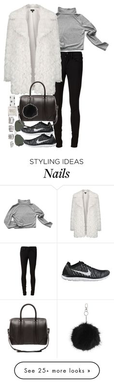 """Untitled #8390"" by nikka-phillips on Polyvore featuring rag & bone/JEAN, My Mum Made It, Ray-Ban, Topshop, NIKE, Givenchy and Forever 21"