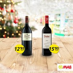 ¿Sabías que en Supermercados MAS puedes encontrar vinos Magnum Vinos de 1,5L? Un tamaño genial para compartir con los tuyos