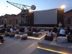 ole scheeren's floating cinema goes to venice #atolyearch_outdoor