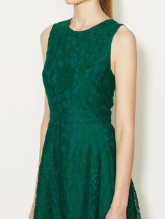 Lace A-Line Dress by Alex + Alex