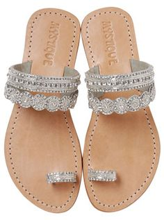 ABSOLUTELY WOULD LOVE TO HAVE THESE BUT DOUBT I COULD AFFORD MYSTIQUE SANDALS