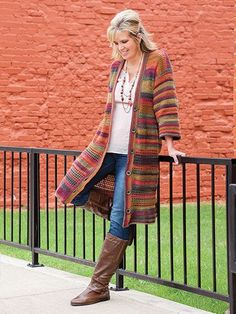 No Seams Cardigan Crochet Pattern #Bestcrochetpatterns
