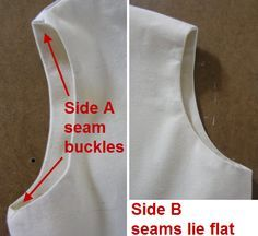 Dominant seams are those sewn last. To make a neat garment the order seams are sewn can make a big difference