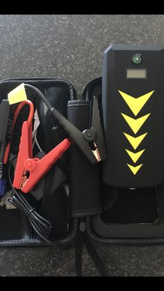 Battery Buddy Jump Starter charges laptops and all USB devices powerful LED Torch