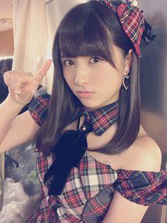 Owada Nana (大和田南那) ; Naanya (なーにゃ) - #AKB48 #TeamB #jpop #idol #beautiful #love #selfie