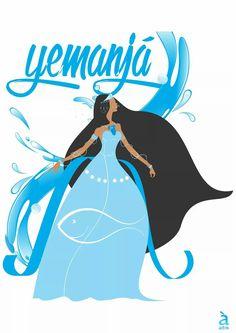 Orisha, Oshun Goddess, African Goddess, Black Mermaid, Art Of Beauty, Sugar Art, Black Art, Wicca, Witchcraft