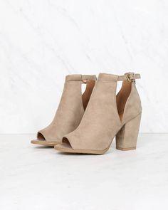 vegan suede peep toe cut out bootie - black qupid – shophearts Short Ankle Boots, Ankle Booties, Bootie Boots, Shoe Boots, High Boots, Women's Shoes, Cute Shoes, Me Too Shoes, Bride Boots