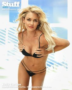 Kelly carlson bikini speaking, try