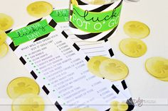 Lucky in Love Date Night! What A FUN idea to give this to your spouse!!