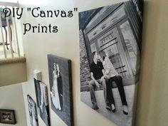 "My Lifesong: DIY ""Canvas"" Prints"