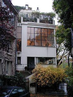 Ozenfant house and studio by Le Corbusier, Paris XIV 1922