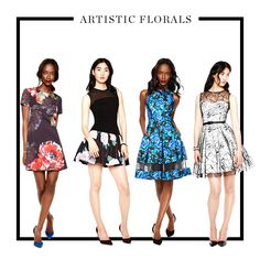 Floral prints for fall.