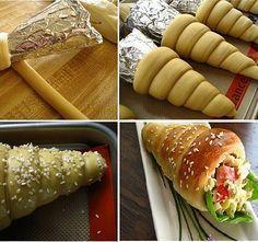 Ne a kürtős kalácsra gondolj! Bakery Recipes, Tart Recipes, Snack Recipes, Snacks, Hungarian Cuisine, Hungarian Recipes, Beste Brownies, Bread And Pastries, Best Food Ever