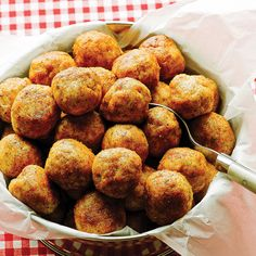 """Paleo Fried Chicken Meatballs from """"Well Fed Weeknights"""" — Ready in just 30 minutes and ridiculously delicious."""