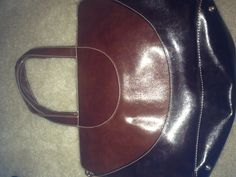 Leather Gucci bag